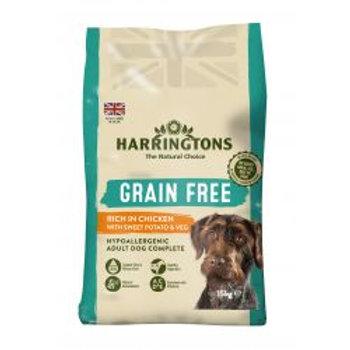 Harringtons Grain Free Hypoallergenic Chicken, 15kg