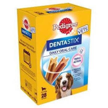 Pedigree Dentastix Medium, 28stk