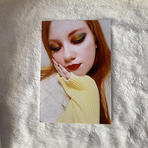 Rainbow Eye Print