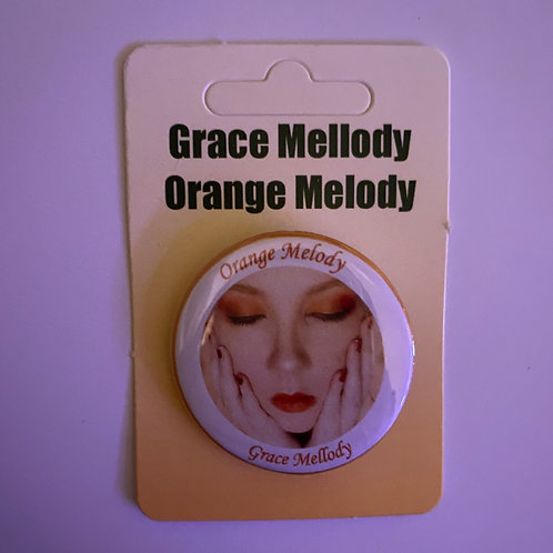 Orange Melody ~ Deluxe Version Button Badge