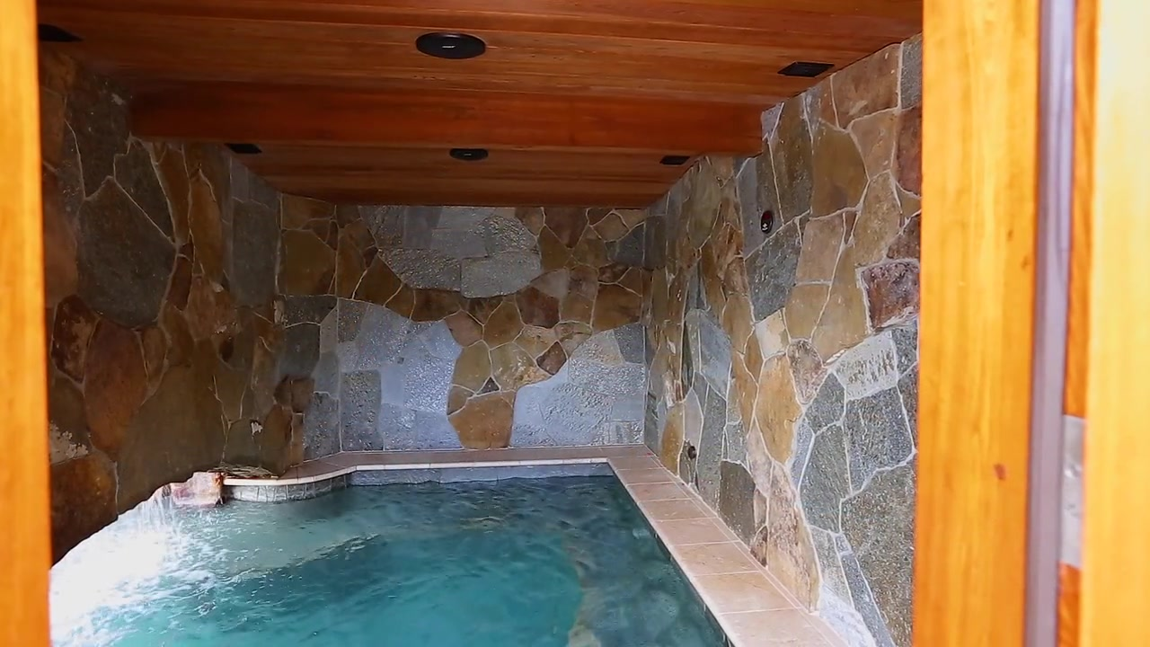"""Custom Grotto and Steam Room"""