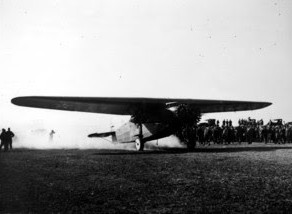 A Moment in History: Flight of the Bird of Paradise