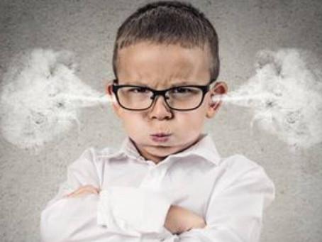 Όταν τα παιδιά θυμώνουν