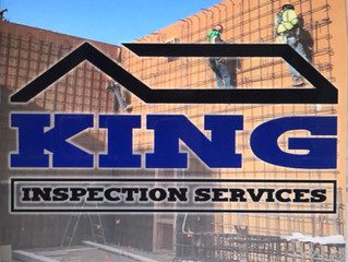 Trying something new to promoteKing Inspection. Job Progress and Material Testing✅✅🏗🏗