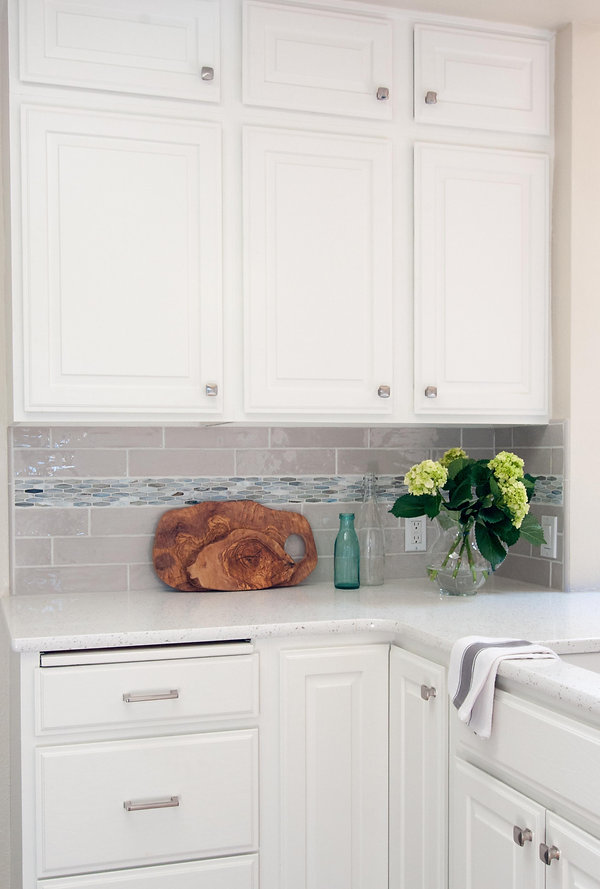White painted cabinets invision design a