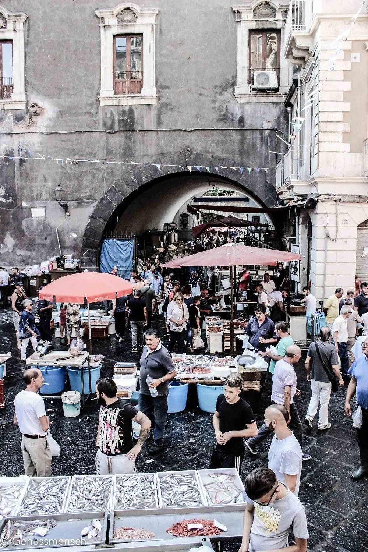Fischmarkt Catania, Sizilien