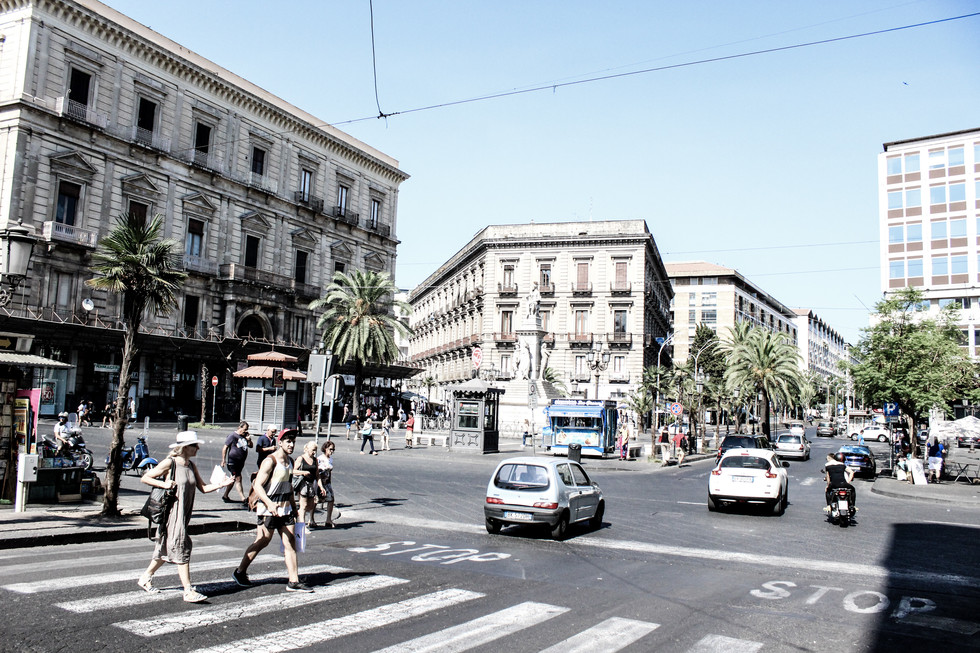 Travel diary Sizilien: Ankunft in Catania (Teil I)
