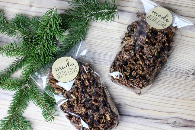 Nussiges Knuspermüsli - Granola selber machen
