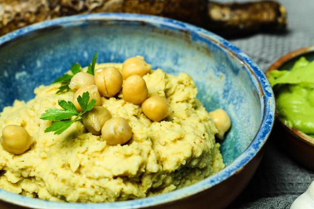 Hummus: Türkischer Kichererbsen-Aufstrich