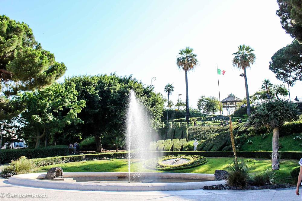 Park Bellini in Catania