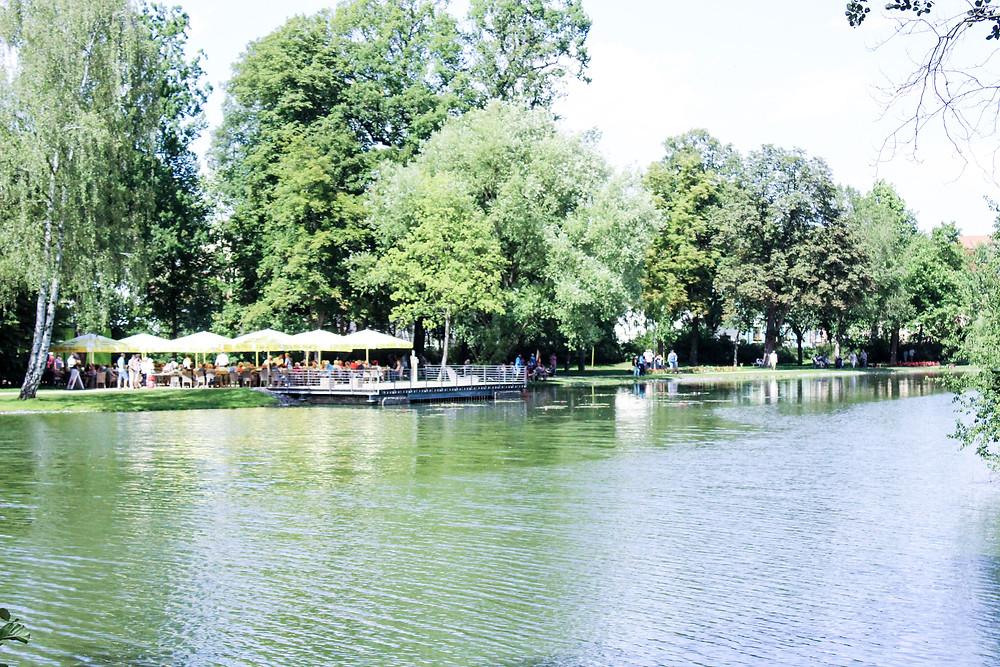 Landesgartenschau Apolda - Café am Wasser