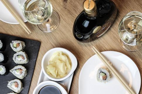 Welcher Wein zu Sushi?