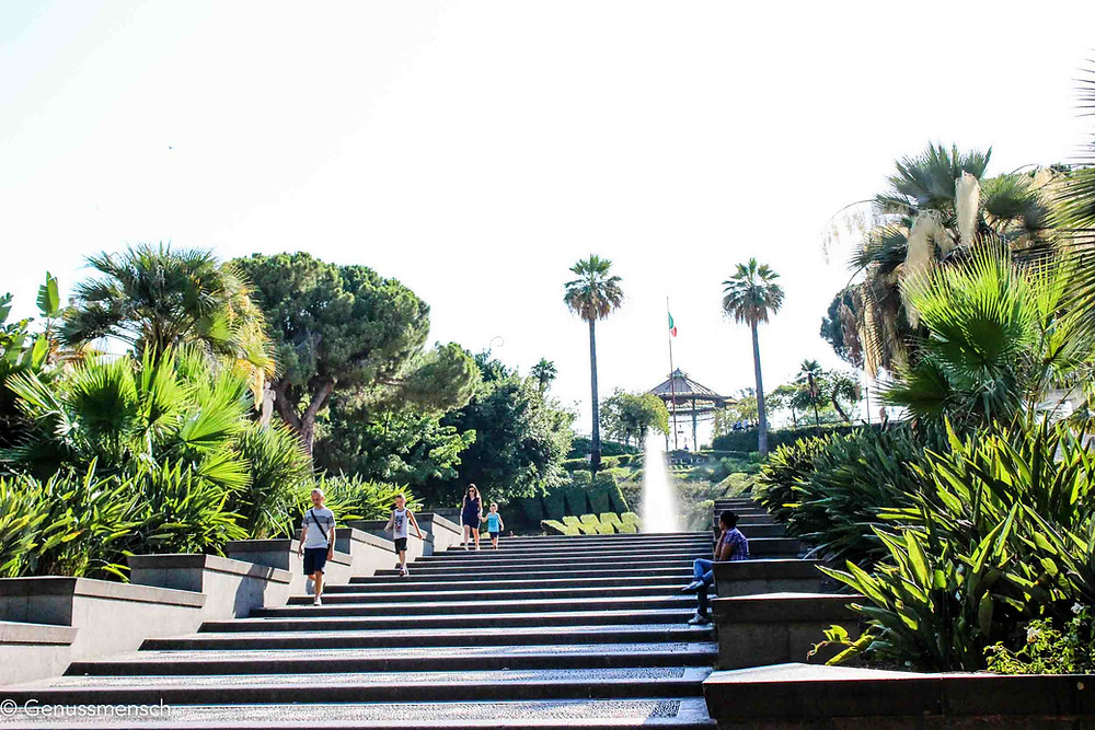 Bellini Park in Catania