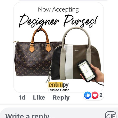 Handbag Authentication is now available at Consignment Corner.