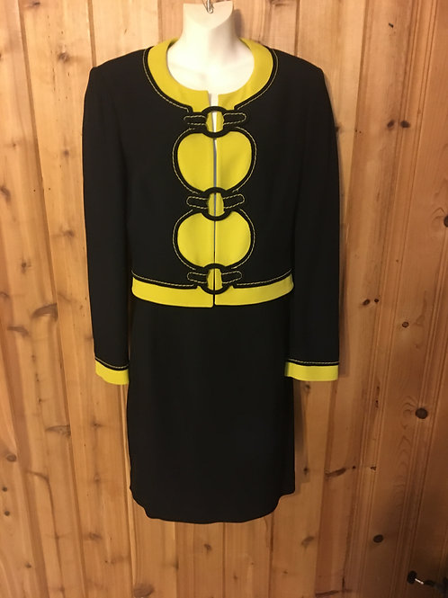 Moschino 2 pc. Suit in size 10.