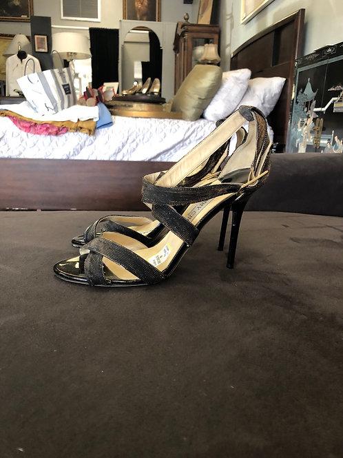 Jimmy Choo sparkle sandal heels