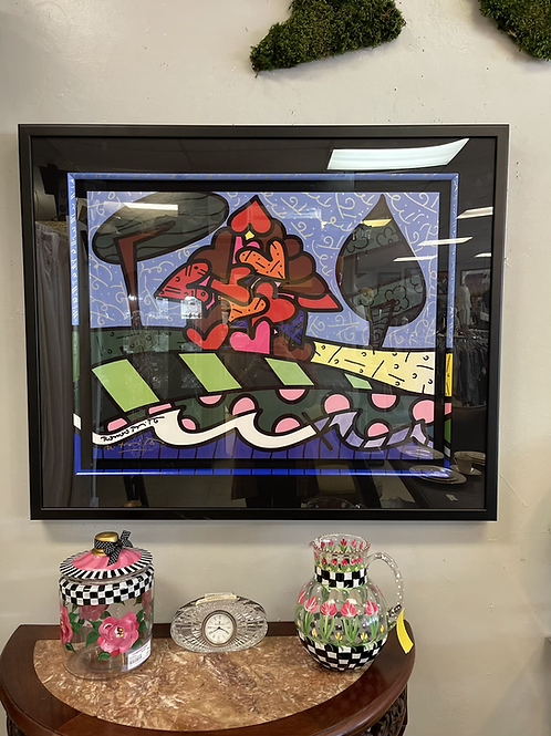 Britto Signed & Framed Lithograph