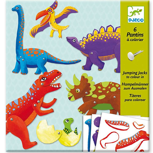 Bastelset Dinosaurier / Djeco