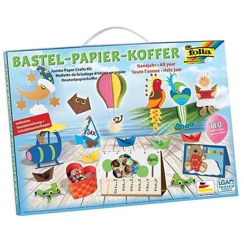 Bastelbox Papierkoffer