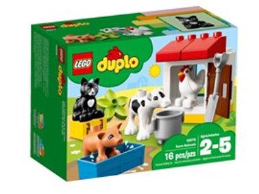 Lego Duplo -Tiere auf dem Bauernhof
