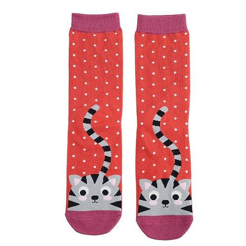 Miss Sparrow Bamboo Socken Kitty