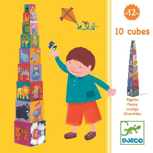 10 Lustige Blocks