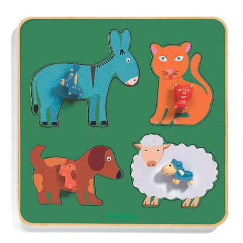 Puzzle Family Farm / Djeco