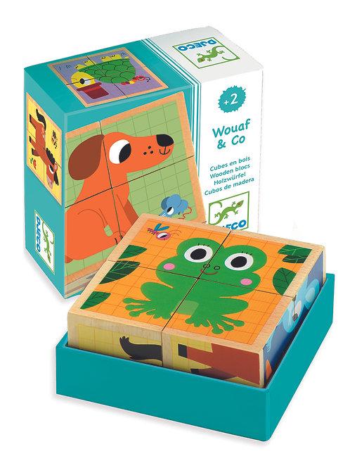 Wouaf & Co. Puzzle / Djeco