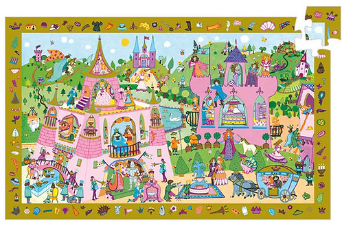 Puzzle Prinzessin / Djeco