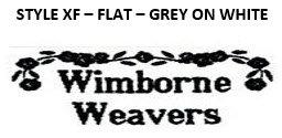 STYLE XF - FLAT - GREY ON WHITE