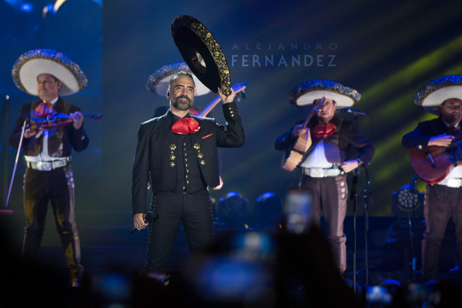 Alejandro Fernandez 2015 Tour