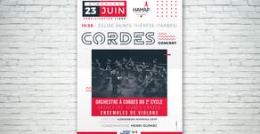 Concert de Cordes au profit d'Hamap 65