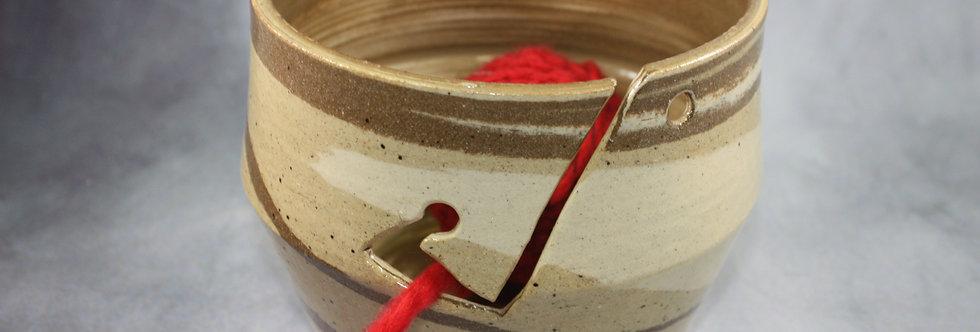 Agateware Yarn Bowl