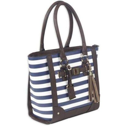 bulldog-stripe-tote-navy-concealed-carry
