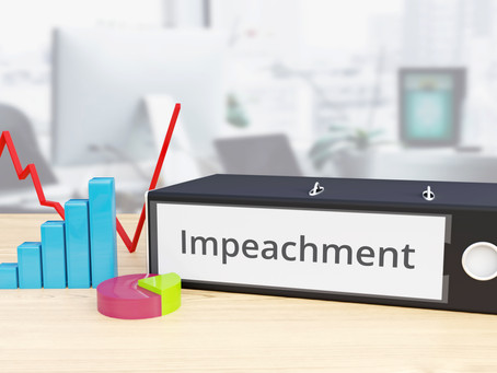 Dems say impeachment...Republicans say never...and the Market says we only care about trade