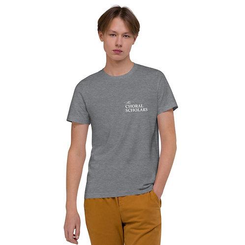Choral Scholars Grey Unisex Organic Cotton T-Shirt