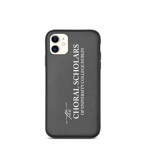 Choral Scholars Biodegradable phone case