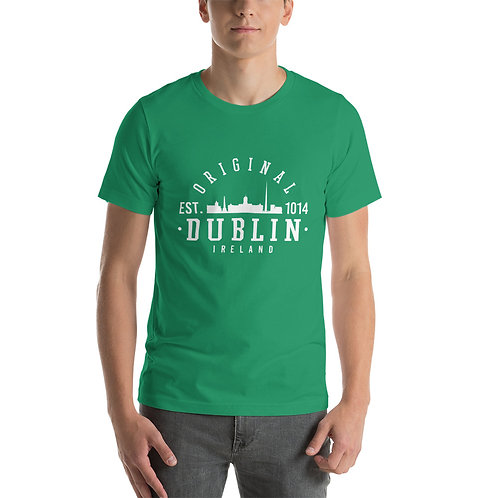 DUBLIN Est 1014 - Short-Sleeve Unisex T-Shirt