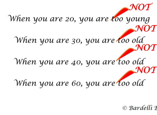 On being 40 (ish)