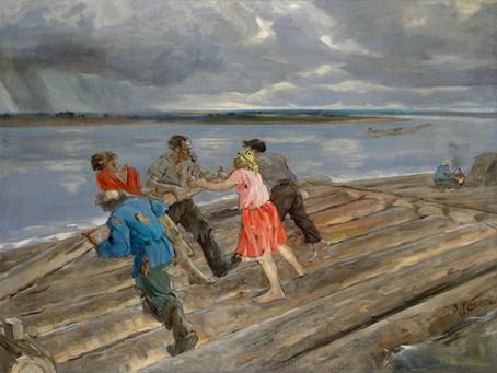Плотогон Василия Мешкова.