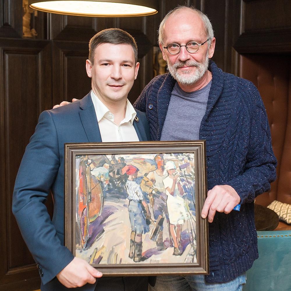 Григорий Гапонов и Александр Гордон