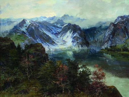 Горное озеро Ивана Тютикова.