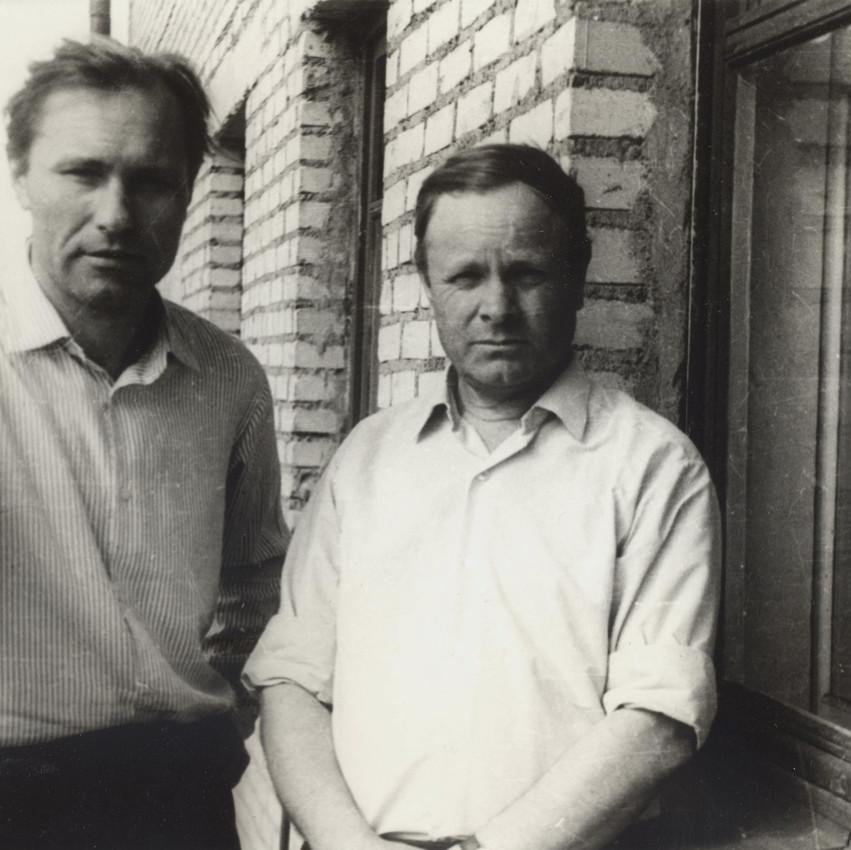 Василий Шукшин и Иван Попов