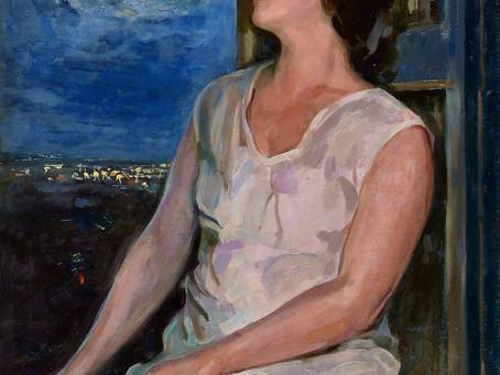 Портрет жены Александра Степанова.