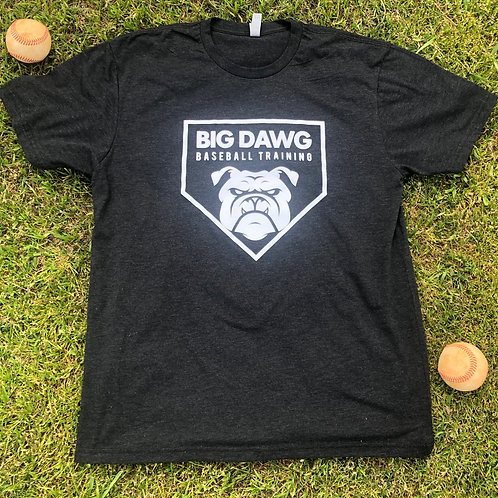 Black Big Dawg Baseball T- Shirt