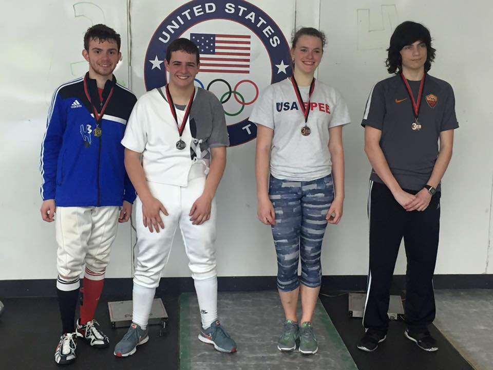 Div 2 Epee Medalists