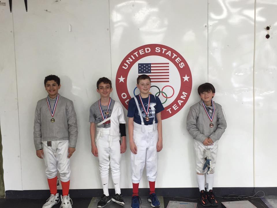 Y10/12 Sabre Medalists