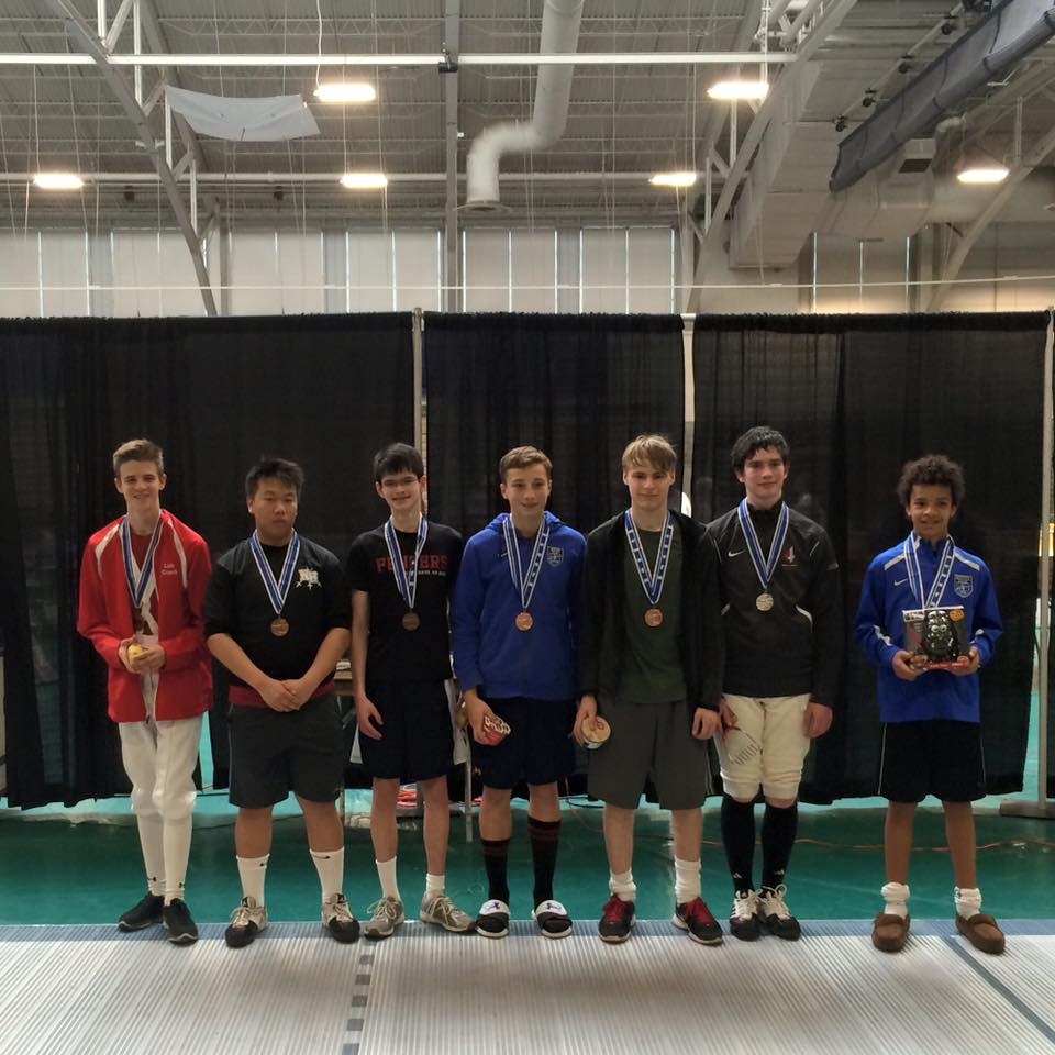 Two Medalists at Pomme De Terre