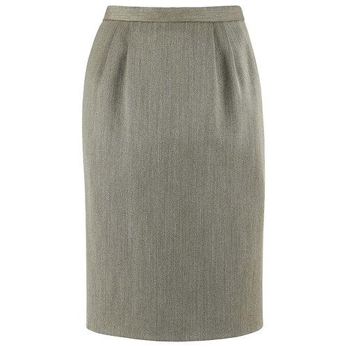 Hermes Wool Pencil Skirt