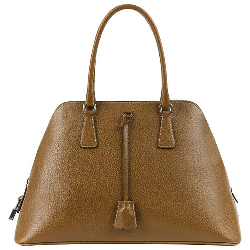 Prada Leather Structured Purse